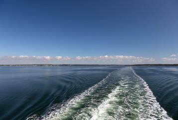 Kielwasser Ostsee