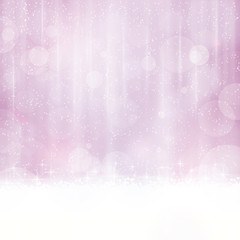 Abstract soft purple background with blurry lights