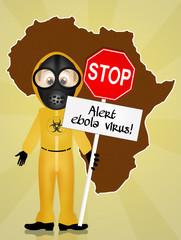 Alert virus ebola