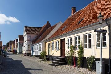 Häuserzeile Ærø