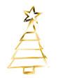 gelb goldener Weihnachtshintergrund mit Stern