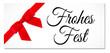 canvas print picture - Frohes Fest