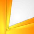 Abstract tech orange vector background