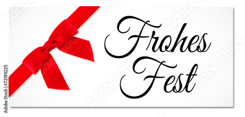 canvas print picture Frohes Fest