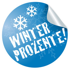 Winter Prozente ! Button, Icon