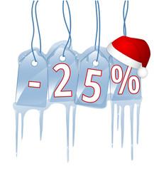 25 % Rabatt