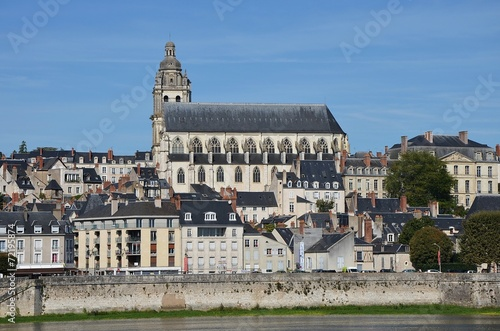 Fotobehang Wielersport La Loire à vélo - Blois