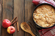 canvas print picture - Apple pie
