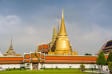 Temple of the Emerald Buddha, Wat Phra Kaew, Bangkok, Thailand