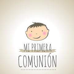 MI PRIMERA COMUNIÓN