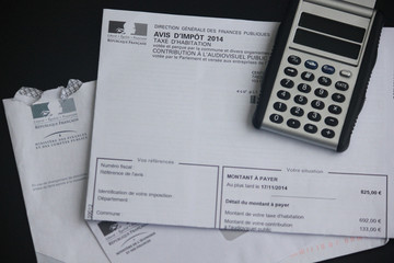Impot taxe d'habitation