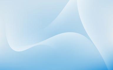 Soft Light Cloud Waves Sky Background Vector Illustration