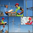 Power Company Electrical Engineers - Collage