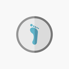 Foot Flat Icon