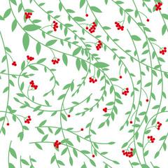 Seamless elegant floral pattern