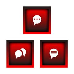boutons messenger
