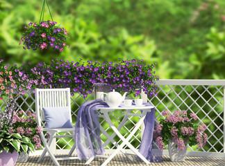 Beautiful open terrace