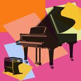 Fototapety Piano à queue.