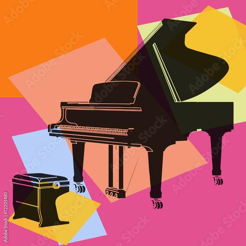Piano à queue. - 72203460