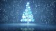 growing christmas tree holiday symbol last 10s loop
