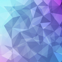 blue and violet polygon abstract background