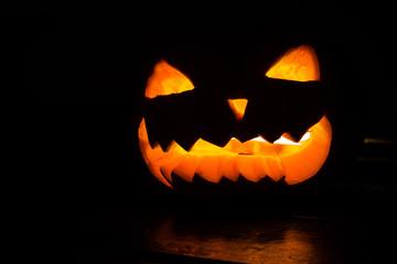 halloween spooky pumpkin latern