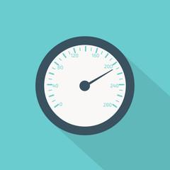 temperature gauge flat