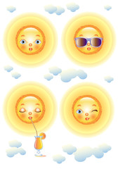 Four Faces of the Sun