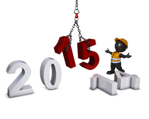 3D Morph Man bringing in the new year