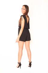 junge Frau posiert