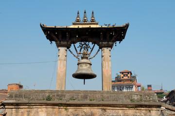 Taleju bell on Patan Durbar Square