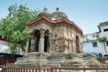 Temple on Durbar square in Kathmandu