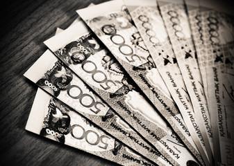 Money of Kazakhstan - tenge
