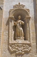 Church of St. Chiara. Altamura. Puglia. Italy.