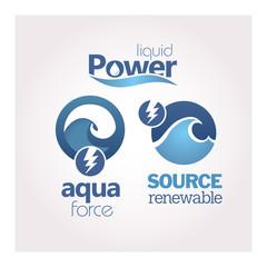 Power - Renewable - Ecology - Green icon set