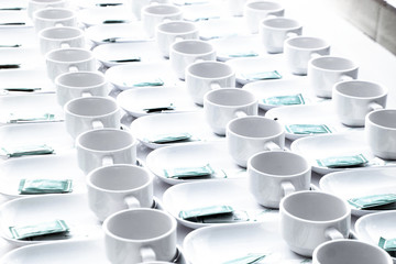 roll of coffee cup for seminar