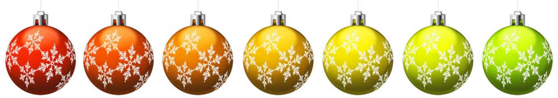 Boules de Noël or avec motifs