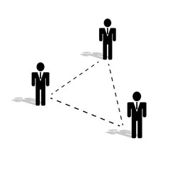 connection people icon illustration