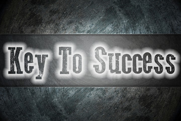 Key to success Concept