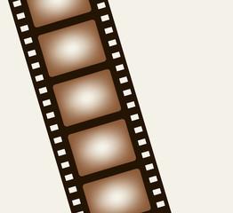 Background from negative film strip