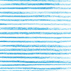 Blue crayon stripes pattern