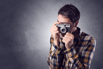 Point and shot, photographer