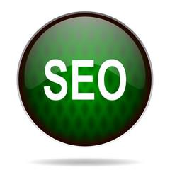 seo green internet icon