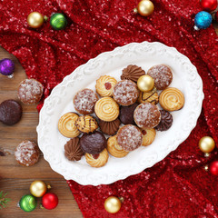 Christmas gingerbread and biscuits