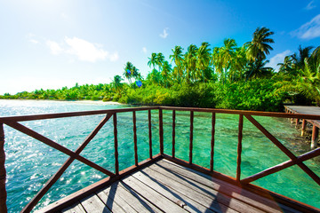Rest in Paradise - Malediven - Hütte am Meer