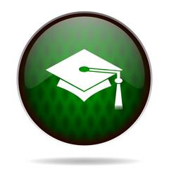 education green internet icon