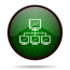 network green internet icon