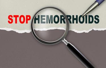 STOP HEMORRHOIDS