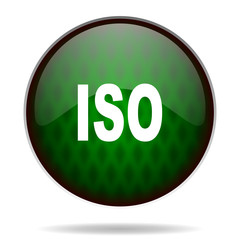iso green internet icon