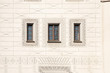 canvas print picture - drei Fenster